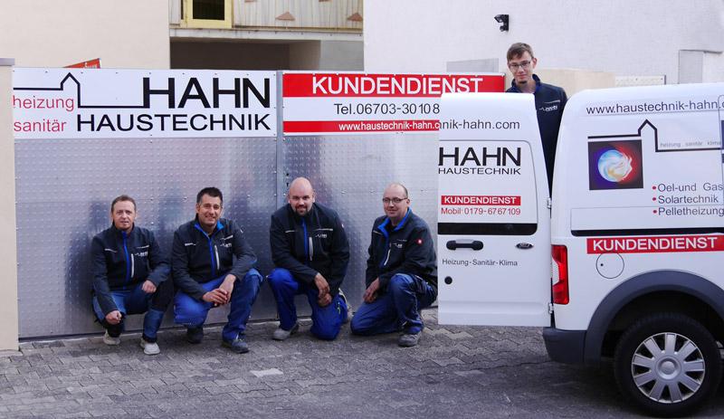 Ihr Team von Haustechnik Hahn